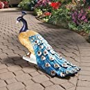 Design Toscano DB20191 The Regal Peacock Garden Statue