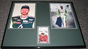 Signed Dale Earnhardt Jr. Photograph - Framed 16x20 Display PSA DNA - Autographed... by Sports Memorabilia
