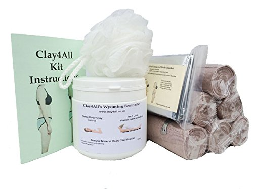 inch-loss-body-wrap-kit-500ml-tub-of-bentonite-clay-and-6-ace-type-contour-body-wrap-bandages-for-th