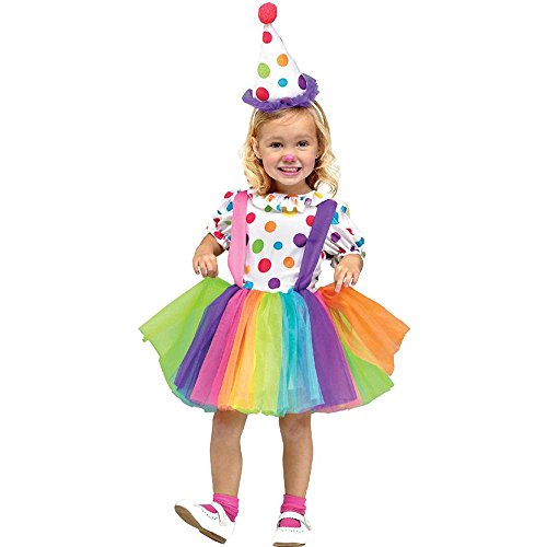 Big Top Fun Clown Kids Costume