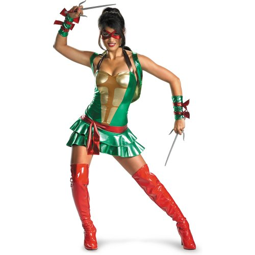 Disguise Women's Tmnt - Sexy Raphael Deluxe Adult Costume