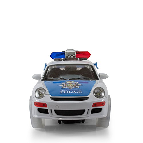 Kidsthrill Justice Team Police Car - Kids Bump And Go ...