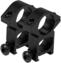 Aim Sports High Profile 1quot Ring with Weaver Base by AIM Sports
