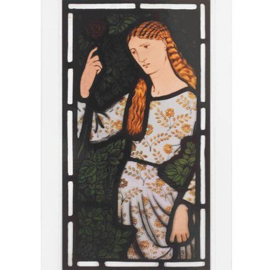 V&A Merchant's Daughter Stained Glass Transfer||EVAEX||RF10F