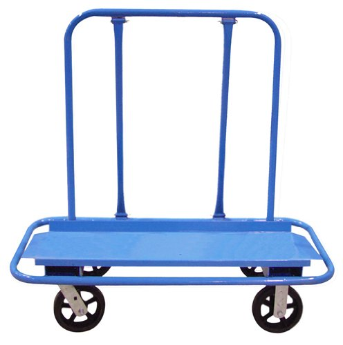 Bon 84-499 Drywall Cart with 2 Fixed and 2 Swivel Heavy Duty Casters