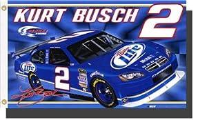 Kurt Busch Nascar Flags
