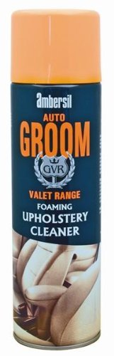 Ambersil Auto Groom foaming Upholstery Cleaner 500Ml