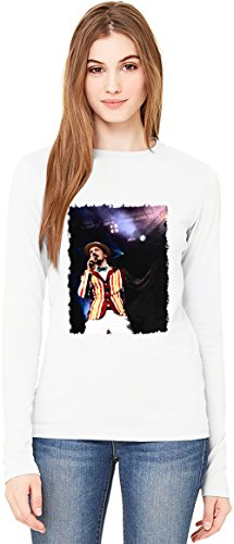 Alligatoah Barber T-Shirt da Donna a Maniche Lunghe Long-Sleeve T-shirt For Women| 100% Premium Cotton Ultimate Comfort XX-Large