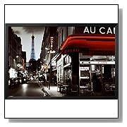 Rue Parisienne Paris Cafe Art Print Poster