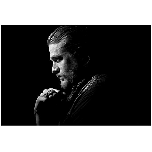 Sons of Anarchy Charlie Hunnam as Jackson 'Jax' Teller Profile Wearing SONS Ring SOA 8 x 10 Photo