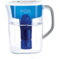 PUR 7 Cup Ultimate Water Filtration Pitcher with LED Indicator Clear