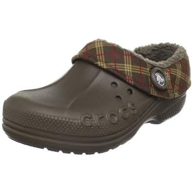 Amazon.com: Crocs Blitzen Winter Plaid Clog (Toddler