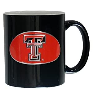 Buy NCAA Texas Tech Red Raiders Ceramic Coffee Mug by Siskiyou Sports