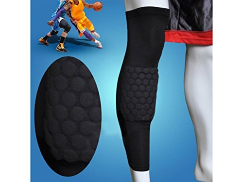 Actpe Basketball Strengthen Kneepad Honeycomb Pad Crashproof Antislip Leg Knee Long Sleeve Protective Pad winmax 6pcs set knee elbow protective pad