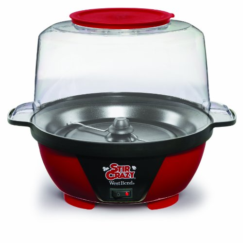 West Bend 82505 Stir Crazy Popcorn Popper, 6-Quart (Popcorn Makers compare prices)