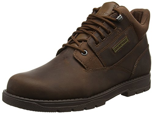Rockport Treeline Hike Plain Toe, Stivaletti Uomo, Marrone (Boston Tan), 40 EU
