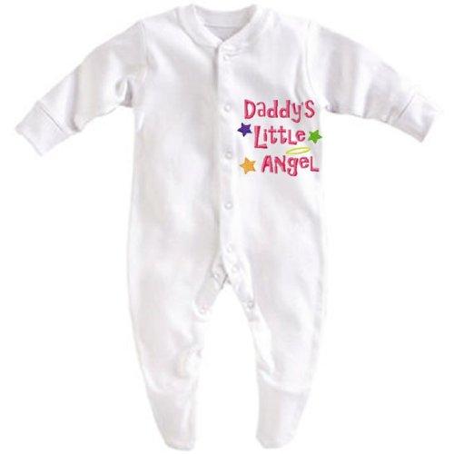 Daddy' s Little Angel bianco White Boy 3-6 Months