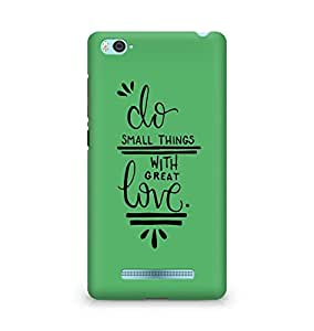 AMEZ do great things with love Back Cover For Xiaomi Mi4i