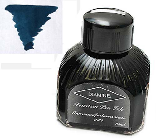 Diamine Crépuscule 80 ml Flacon d'encre supérieur pour stylo plume