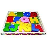 Kinder Creative Wooden Capital Alphabet Block(Set Of 26 Letters)