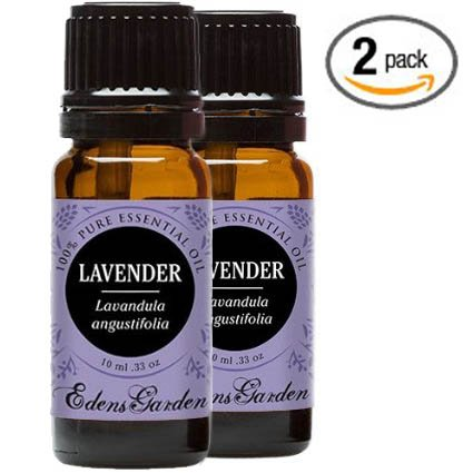 Lavender 100% Pure Therapeutic Grade Essential Oil by Edens Garden- 10 ml - 2 pack