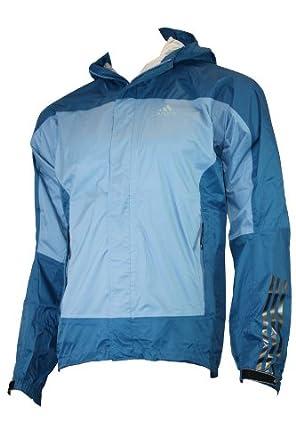 Billig ADIDAS Hiking Wanderjacke Regenjacke blau Bekleidung