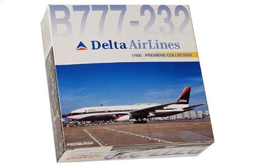1:400 ドラゴンモデルズ 55237 ボーイング 777-200 ダイキャスト モデル デルタ Air Lines N866DA【並行輸入品】
