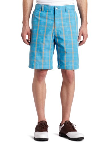 Callaway Men's Flat Front Oversided Plaid Short