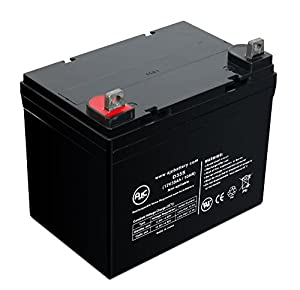 Dalton Primechair Rear PC-MP3C-1-AR BL 12V 35Ah Wheelchair Battery - This is an AJC Brand® Replacement