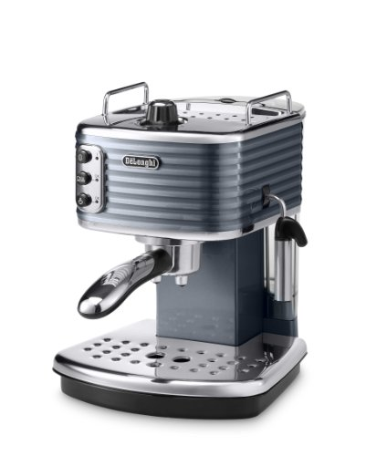 BESTSELLER #1 De'Longhi Scultura Traditional Pump Espresso Coffee Machine ECZ351.G, 1100 W – Grey best buy price Review uk