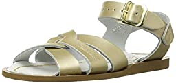 Salt Water Sandals by Hoy Shoe Original Sandal (Toddler/Little Kid/Big Kid/Women\'s),Gold,3 M US Infant