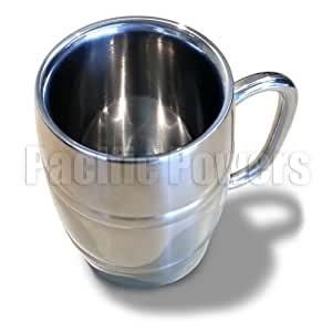 Buy Stainless Steel Double Walled Mug Vacuum Insulated