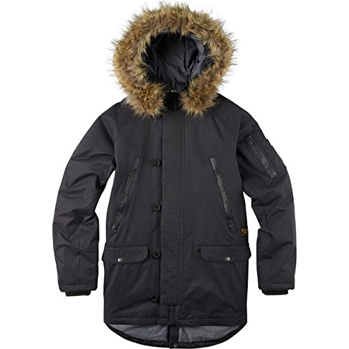 BURTON Men's Bryce Jacket, Phantom, Medium