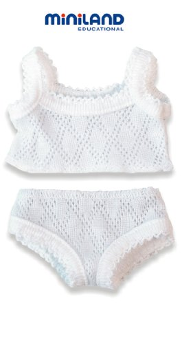 Miniland Underwear Set for 8.25'' Baby Dolls
