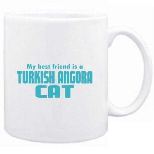Mug White  MY BEST FRIEND IS a Turkish Angora  Cats