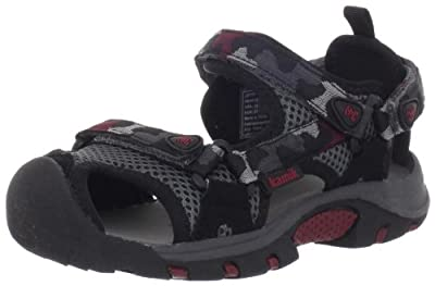 Kamik Jetty Sandal (Little Kid/Big Kid) - Manmade
