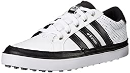 adidas Men\'s Adicross IV Golf Shoe, FTW White/Core Black, 13 M US/12.5 UK