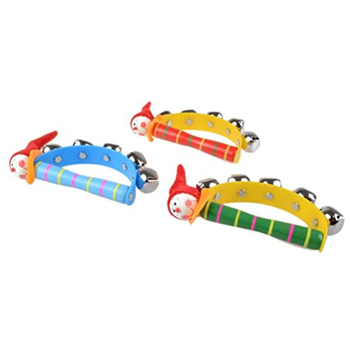 XILALU-baby-toy-Baby-Rainbow-Musical-Instrument-Toy-Lovely-Wooden-Jingle-Ring-Handbell-Rattle