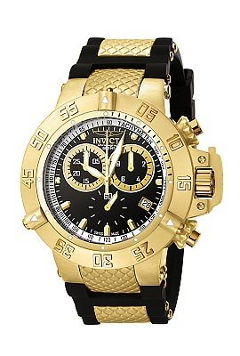 Invicta Men's 5514 Subaqua Collection Gold-Tone Chronograph Watch