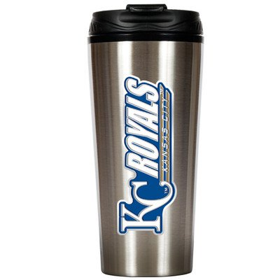 MLB Kansas City Royals 16-Ounce Stainless Steel Travel Tumbler at Amazon.com