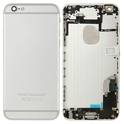 IPartsBuy Full Back Cover Housing Replacement for iPhone 6 (Grey)
