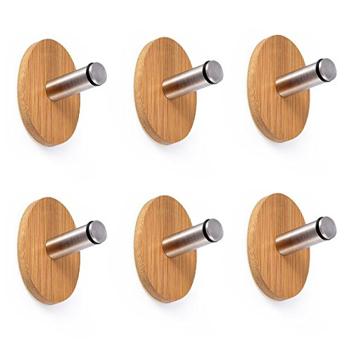 adhesive-hooks-6pcs-pack-oak-leaf-i-hook-with-3m-sticker-coat-hooks-hangers-stainless-steel-heavy-du