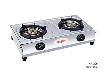 Candy Ovel Gas Cooktop (2 Burner)