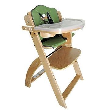 Abiie Beyond Junior Y High Chair, Natural