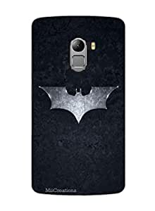 MiiCreations 3D Printed Back Cover for Lenovo Vibe K4 Note,Batman