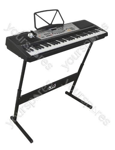 clavier lectronique num rique avec 61 touches electronic keyboard buy online free. Black Bedroom Furniture Sets. Home Design Ideas