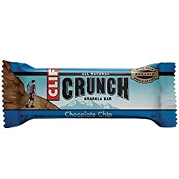 Clif Crunch Granola Bar Chocolate Chip Bars, 5-2 pk (Pack of 3)