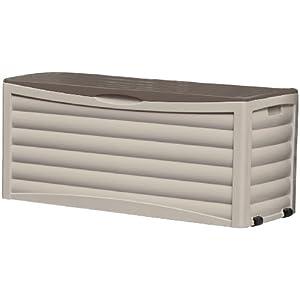 Suncast Patio Storage Box, 103 Gallon