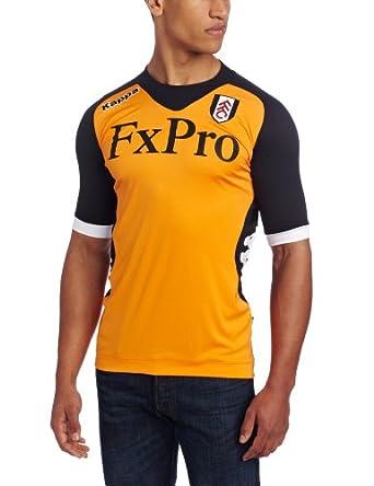 Kappa Men's Fulham Home Jersey, Orange, XX-Large