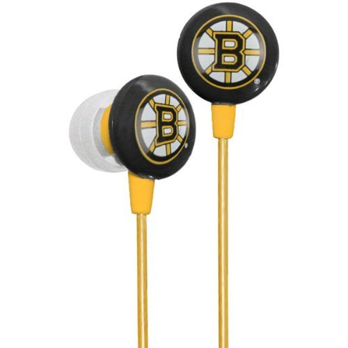 Nhl Officially Licensed Ihip Earbuds (Boston Bruins)